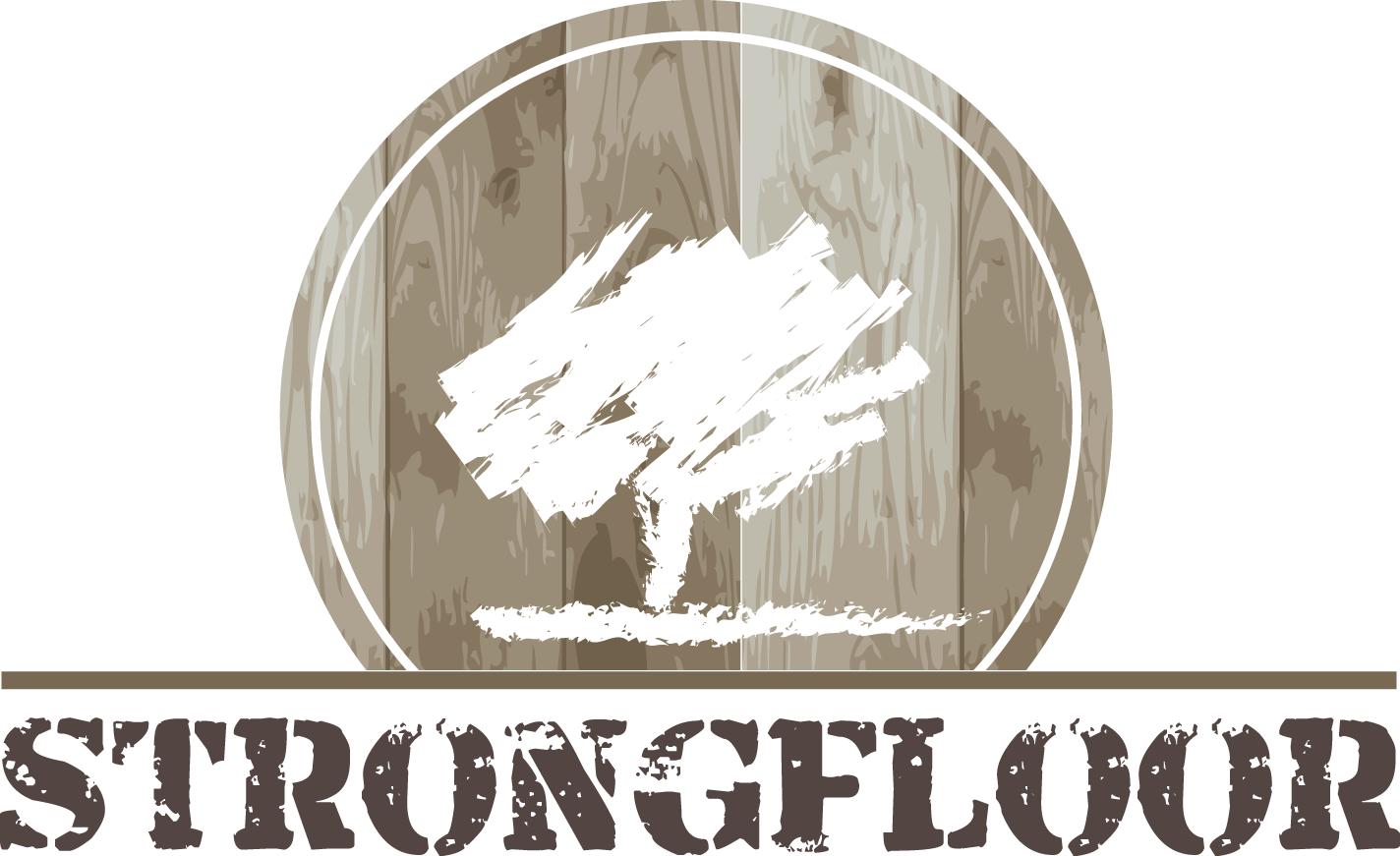 Logo Strongfloor houten vloeren